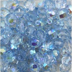 Cristal Preciosa Ornela Azul Claro Aurora Boreal Transparente (10060/28701) 8mm