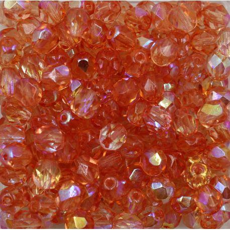 Cristal Preciosa Ornela Rosa Transparente Aurora Boreal (70120/28701) 10mm