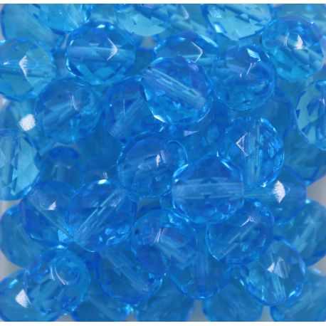 Cristal Preciosa Ornela Azul Aguá Transparente (60010/14400) 4mm