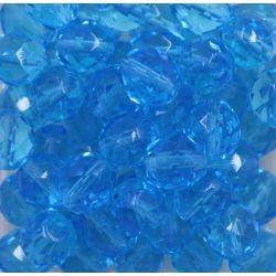 Cristal Preciosa Ornela Azul Aguá Transparente (60010/14400) 12mm