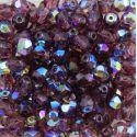 Cristal Preciosa Ornela Amethyst Transparente Aurora Boreal (20060/28701) 6mm