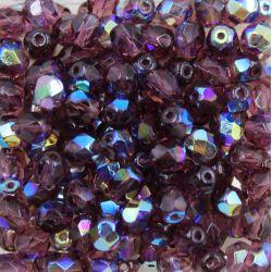 Cristal Preciosa Ornela Amethyst Transparente Aurora Boreal (20060/28701) 10mm