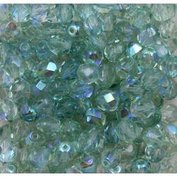 Cristal Preciosa Ornela Light Peridot Aurora Boreal (50500/28701) 4mm