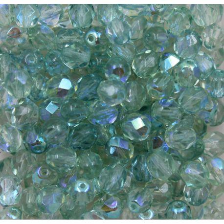 Cristal Preciosa Ornela Light Peridot Aurora Boreal (50500/28701) 10mm