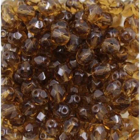 Cristal Preciosa Ornela Marrom Transparente (10230) 16mm