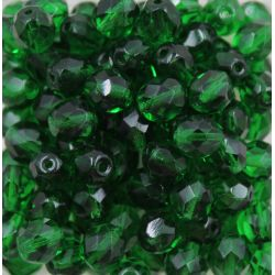 Cristal Preciosa Ornela Verde Transparente (50140) 6mm